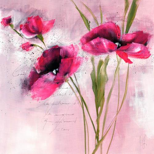 Pink Flower I - Zacher-Finet, Isabelle - 5779