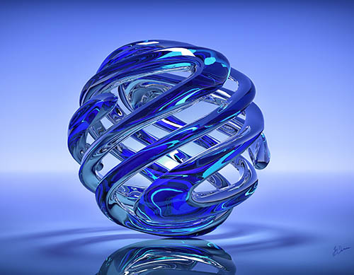 Blaues Wunder I - Jég Graphics