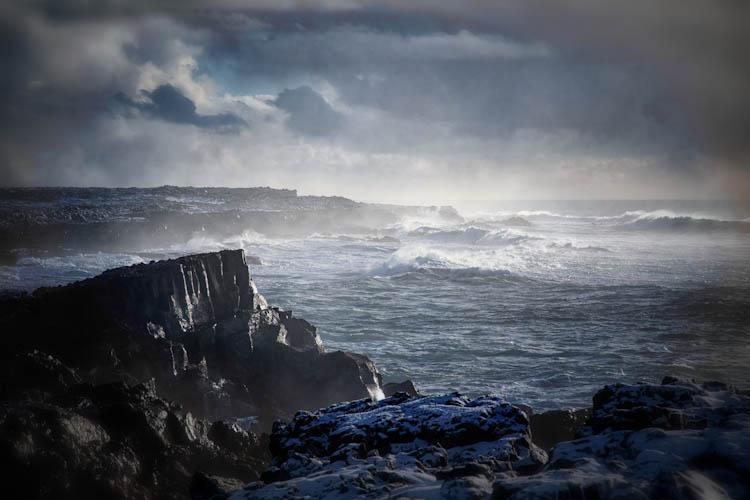 Iceland Reykjanes Waves