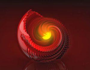 Magic Red Solsystem I - Jég Graphics