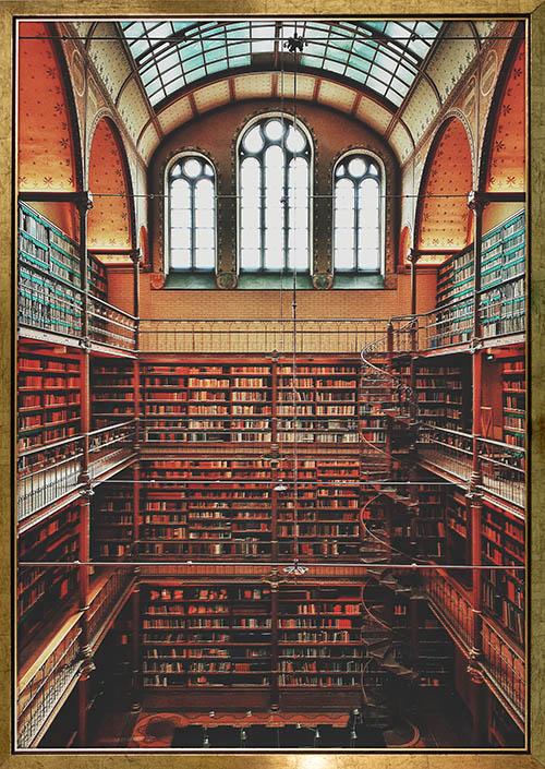 Rijksmuseum Amsterdam Library