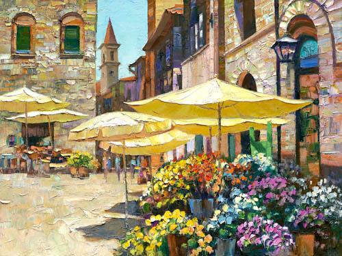 Howard Behrens - Sienna Flower Market