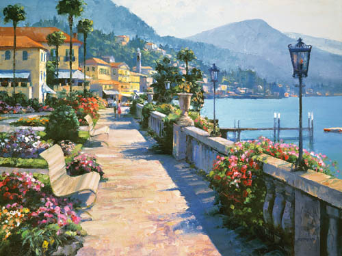Bellagio Promenade - Howard Behrens