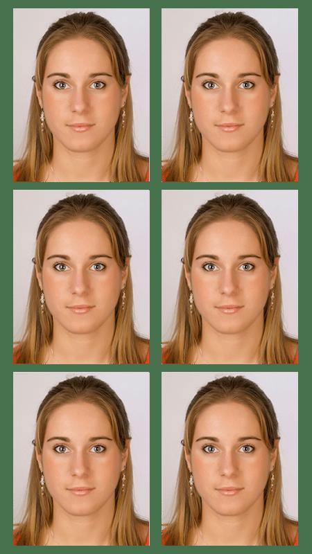 Biometrietaugliche Passbilder