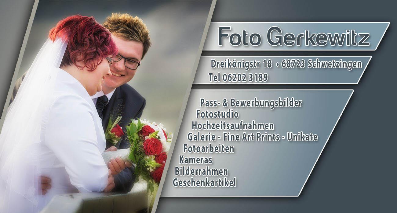 Foto Gerkewitz - Ihr Fotograf und Fotogeschäft in Schwetzingen
