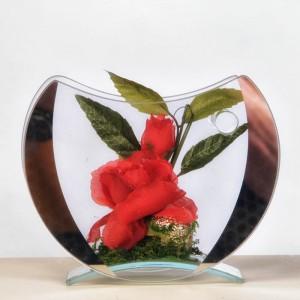 Blüte im Glas