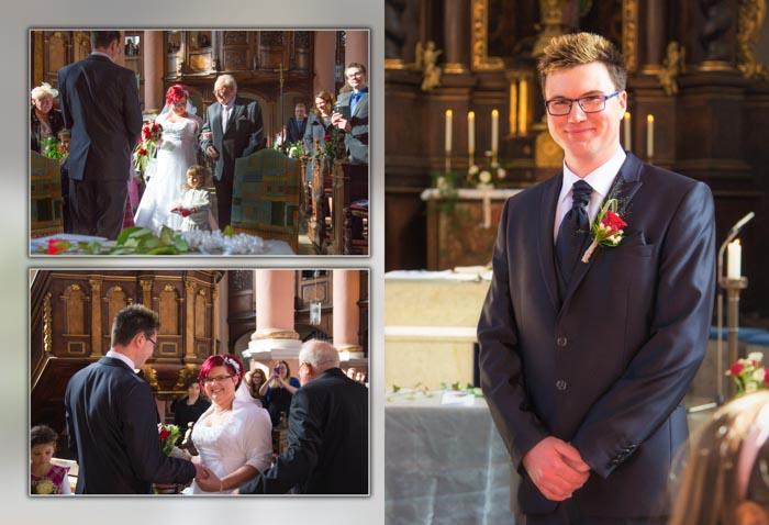 Hochzeitsfotografie im Standesamt und in der Kirche