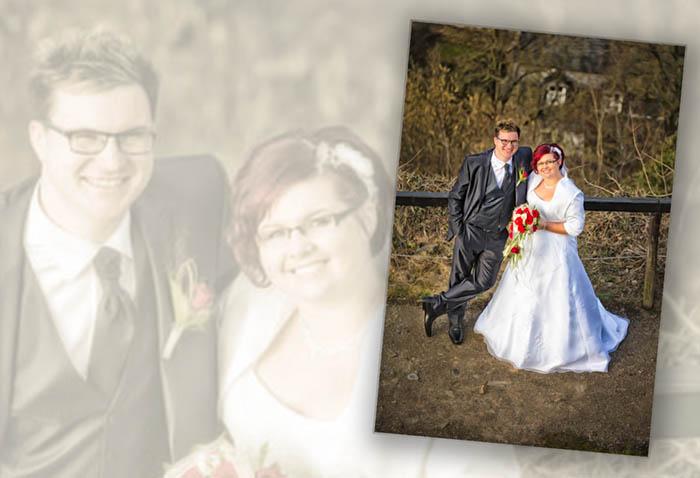 Outdoorshooting Hochzeit