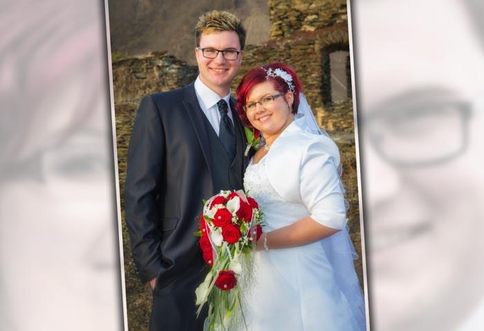 Hochzeitsfotos im Fotobuch