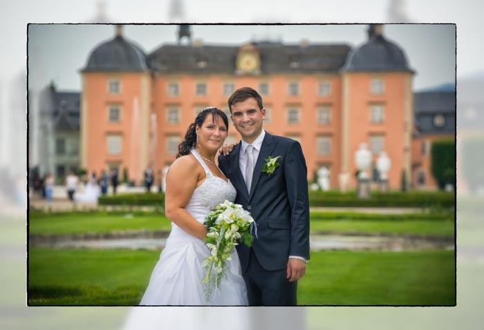 Fotoshooting im Schwetzinger Schloss