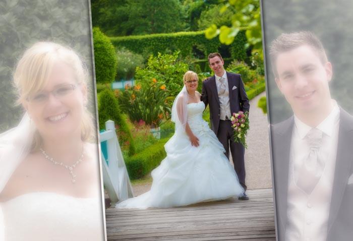 Der Schloßgarten Schwetzingen in als passenden Ambiente für Ihre Hochzeitsfotos