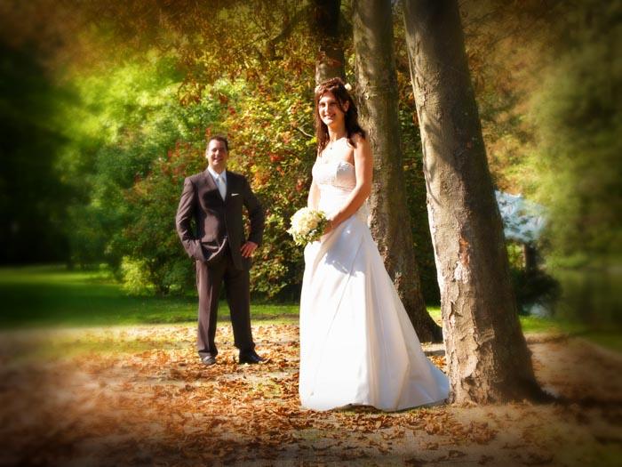 Hochzeit im Schwetzinger Schlossgarten