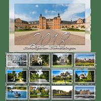 Kalender mit Motiven aus dem Schwetzinger Schloßgarten