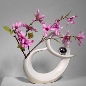 Vase mit Blüten