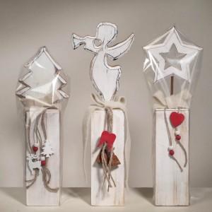 Figuren aus Holz - Weihnachtsdeko